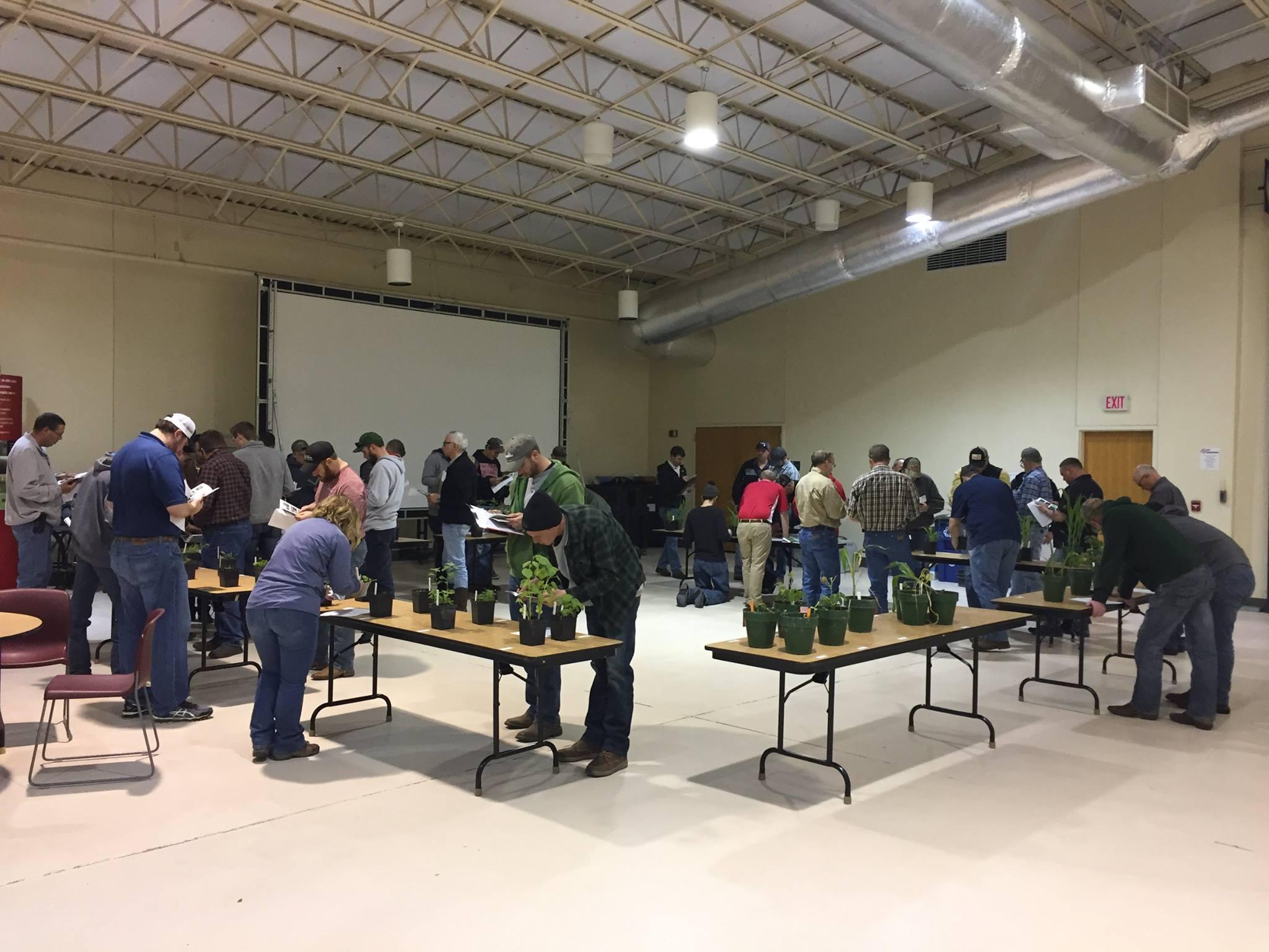 Nebraska Extension Crop Scout Training On March IANR News - Unl training table