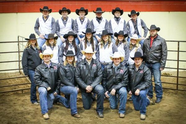 2015 UNL Rodeo Team