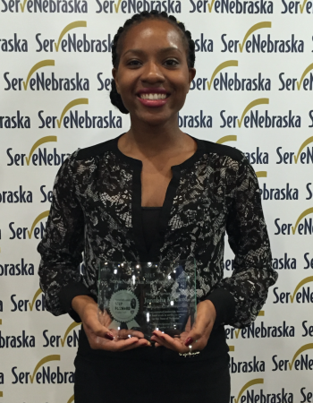 ExtensionCorps volunteer honored as finalist for ServeNebraska Award