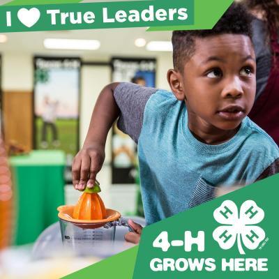 4-H Grow True Leaders