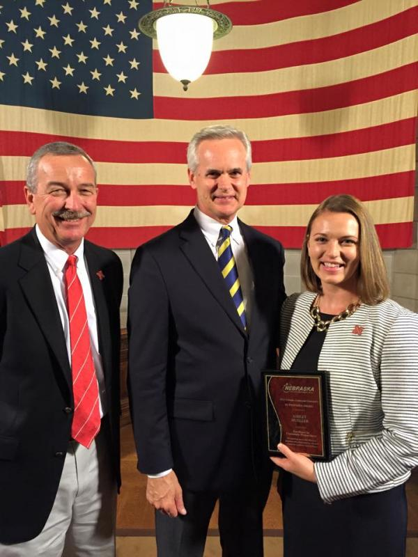 Mueller Honored with Excellence in Community Preparedness Award