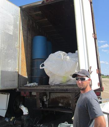 Pesticide Container Storage