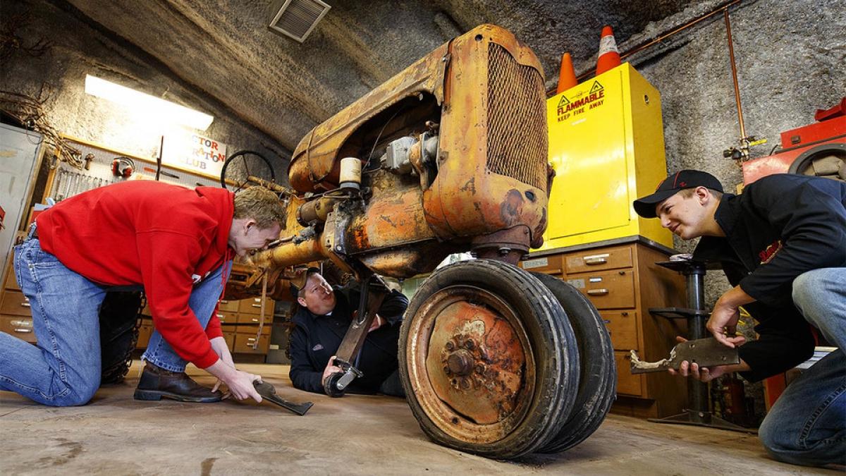 Tractor Restoration Club