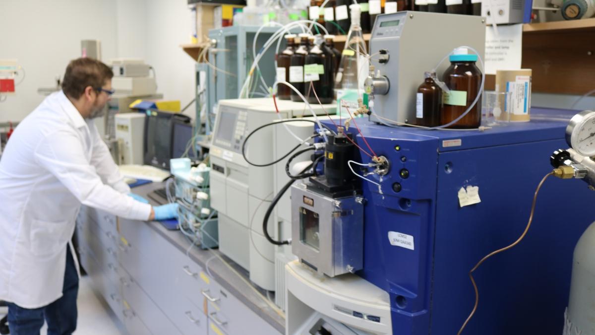 Mass Spectrometry lab
