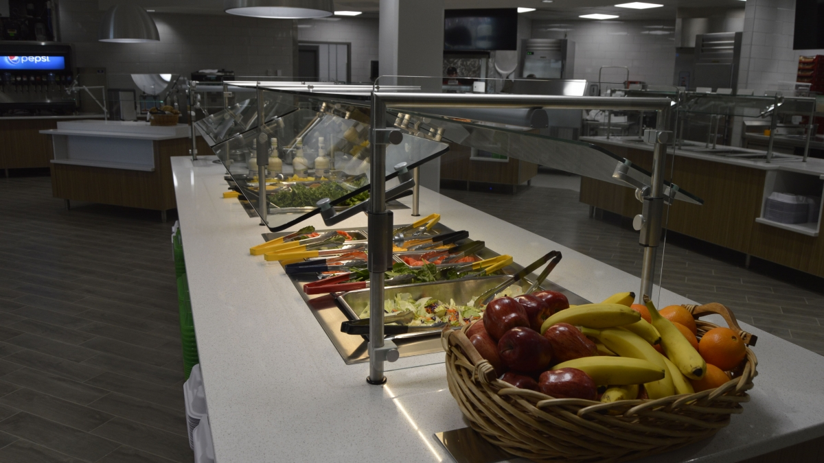 Renovated East Campus Dining Center