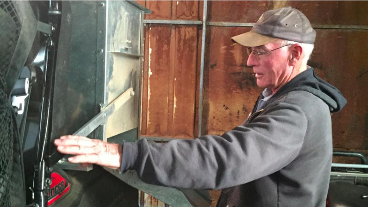 Nebraska rancher Rowan Ballagh