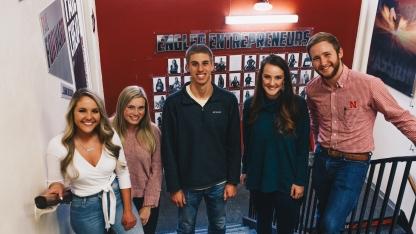 Engler Entrepreneur students