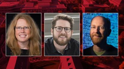 Dana Fritz, Zachary Tate Porter and Adrian Wisnicki