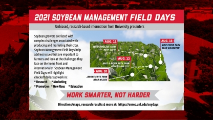2021 Soybean Management Field Day