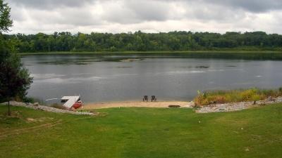 lake shoreline in Minnesota