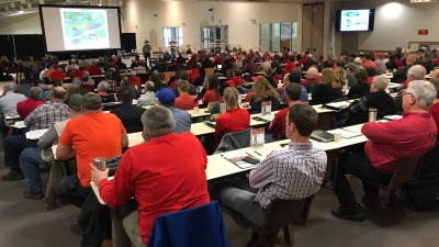 Attendees at the Cover Crop and Soil Health Conference