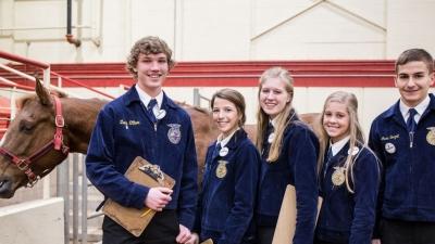 FFA Students at CDE
