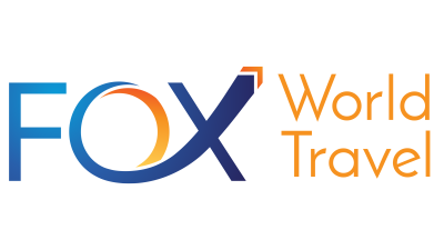 Fox World Travel Logo. Property of Fox World Travel.