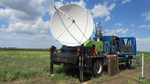 A Doppler on Wheel collects data. Links to larger image.