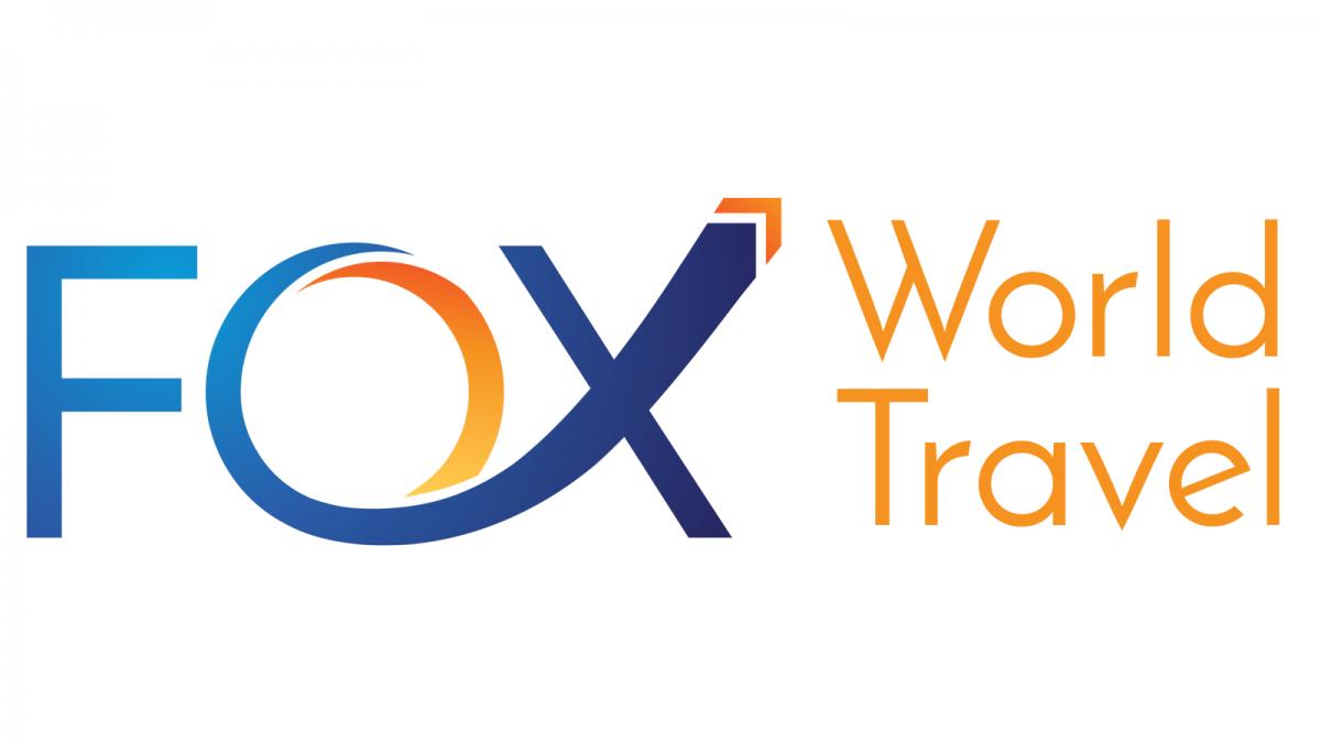Fox World Travel Logo. Property of Fox World Travel.