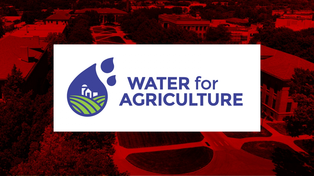 Water for Agriculture logo