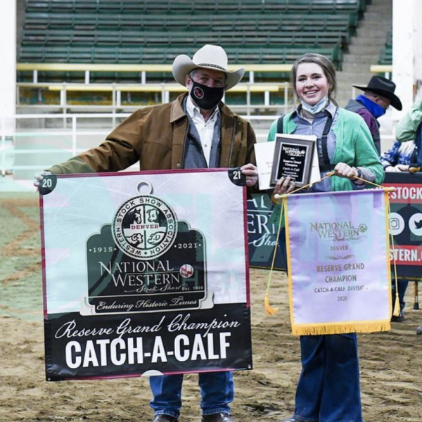 Catch-A-Calf Reserve Grand Champion Winner