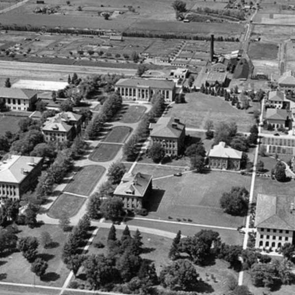 Throwback photo of East Campus