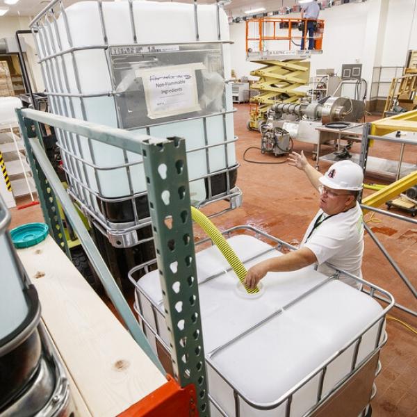 manufacturing hand sanitizer