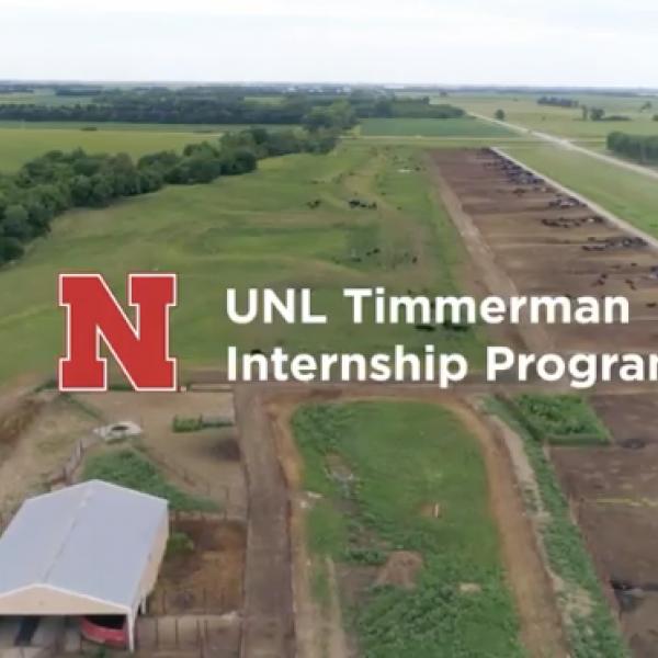UNL Timmerman Internship Program ranch