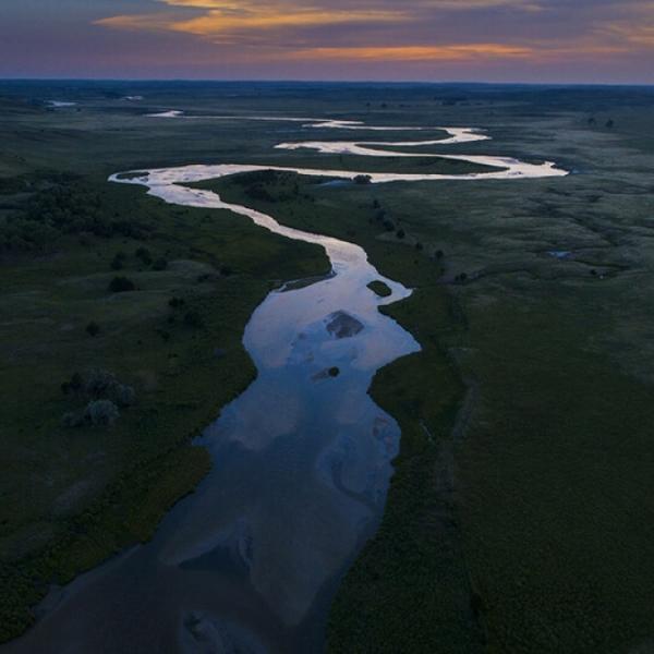 Photo of water by Craig Chandler, University Communication